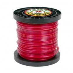 BOBINE FIL NYLON 87M 3.0MM CARRE