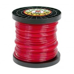 BOBINE FIL NYLON 49M 4.0MM CARRE