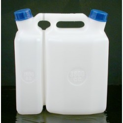 BIDON DOUBLE USAGE 3.8L + 1.5L