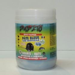 RATICIDE SOURICIDE PAT BLEUE 150G
